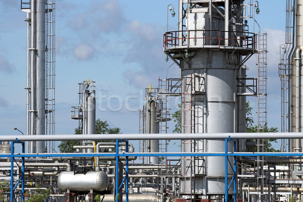 refinery and pipelines industry zone Stock photo © goce