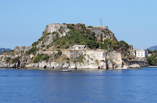 Edad fortaleza ciudad Grecia verano temporada Foto stock © goce