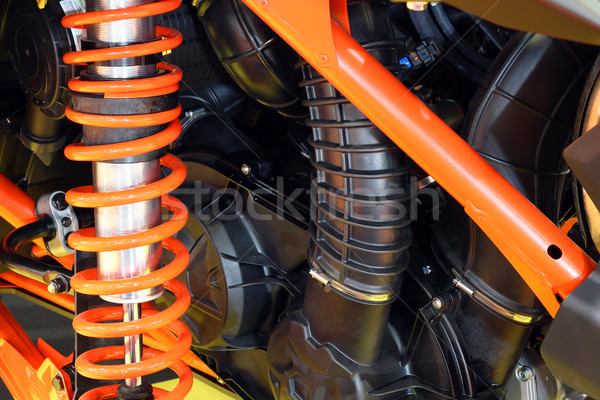 all terrain vehicle shock absorber  Stock photo © goce