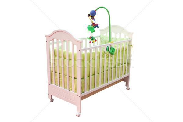 crib isolated on white background Stock photo © goce