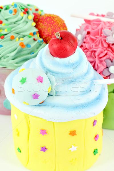 Sweet coloré alimentaire fête anniversaire Photo stock © goce