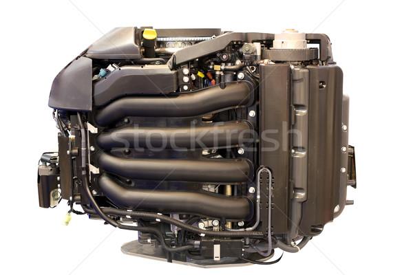 boat turbo engine isolated Stock photo © goce