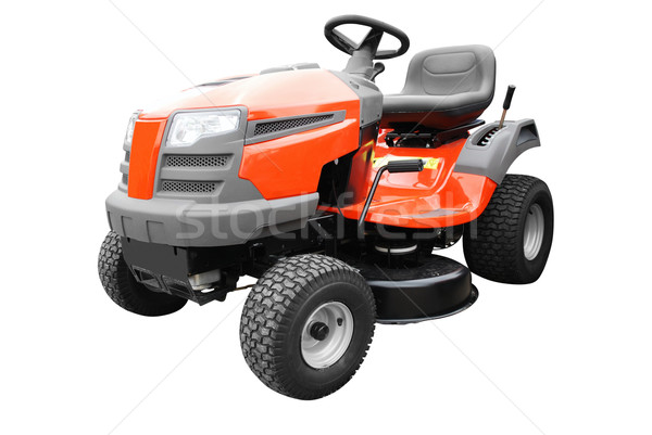 lawn mower isolated on white Stock photo © goce