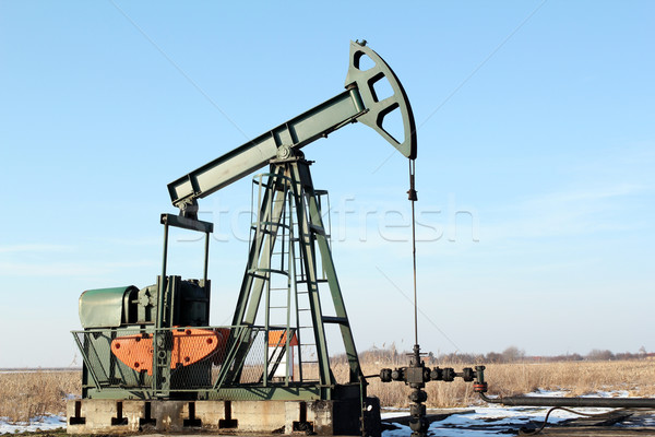 pumpjack Stock photo © goce
