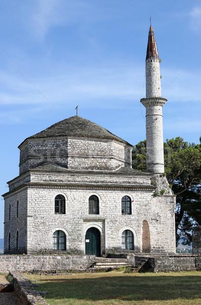 Mosquée Grèce Europe ville religion islam Photo stock © goce