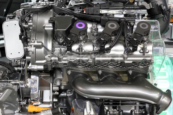 Araba melez motor yeni teknoloji enerji Stok fotoğraf © goce