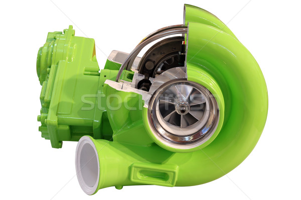 turbo charger isolated on white Stock photo © goce