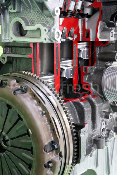 Auto motore potere macchina acciaio Foto d'archivio © goce