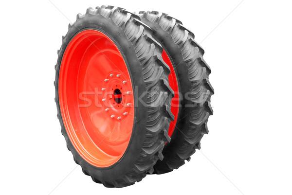 tractor big wheel isolated Stock photo © goce