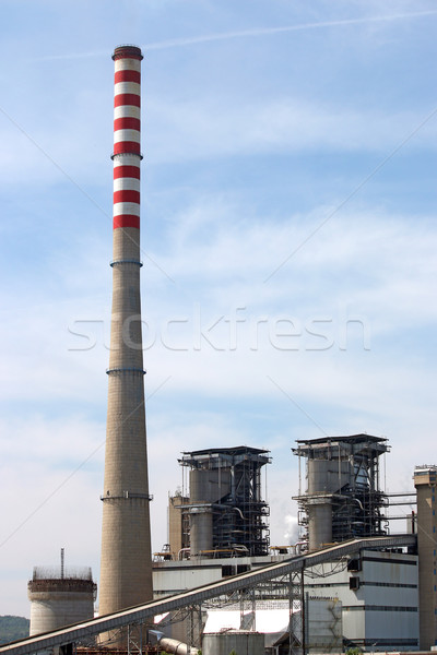 thermal power plant industry Stock photo © goce