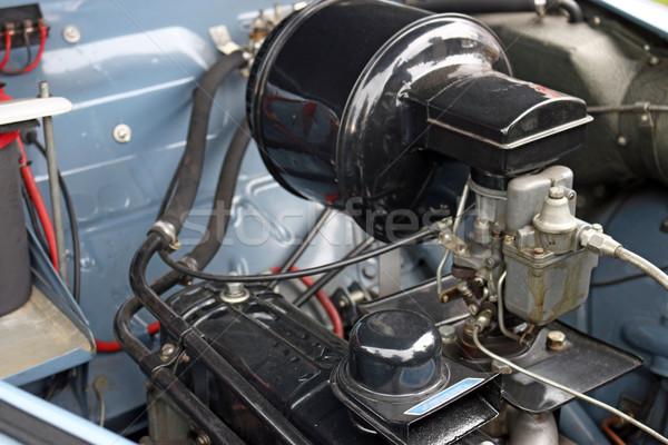 oldtimer car engine close up Stock photo © goce