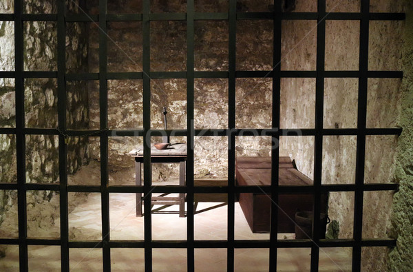 Old prison cell Stock photo © goce