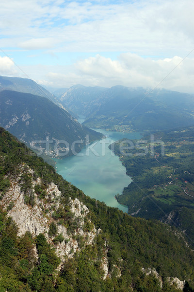 viewpoint Banjska stena Tara mountain  Stock photo © goce