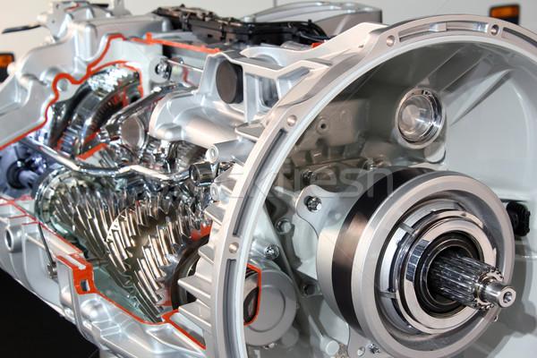 heavy truck transmission detail Stock photo © goce
