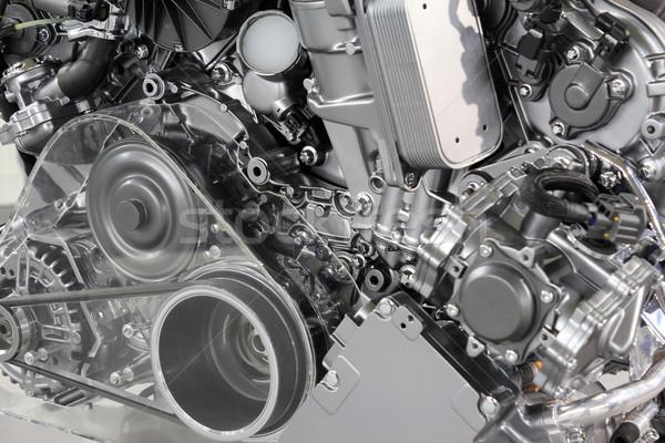 powerful car engine new technology Stock photo © goce