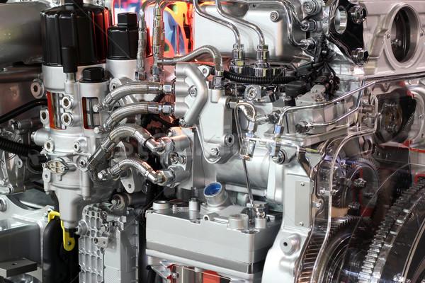 heavy truck engine Stock photo © goce