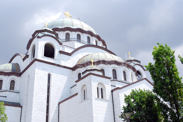 sveti sava orhtodox church belgrade Stock photo © goce
