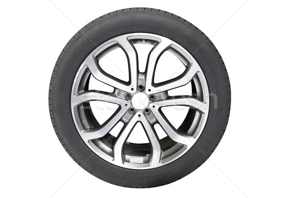 car tire isolated on white background Stock photo © goce