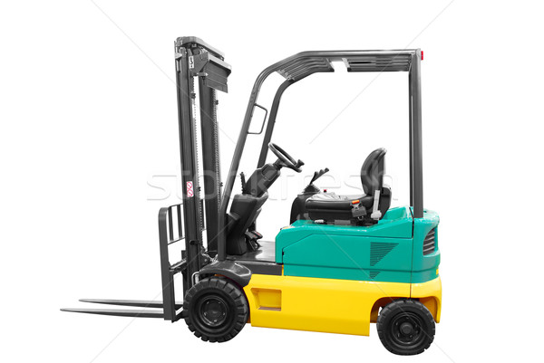 fork-lift isolated Stock photo © goce
