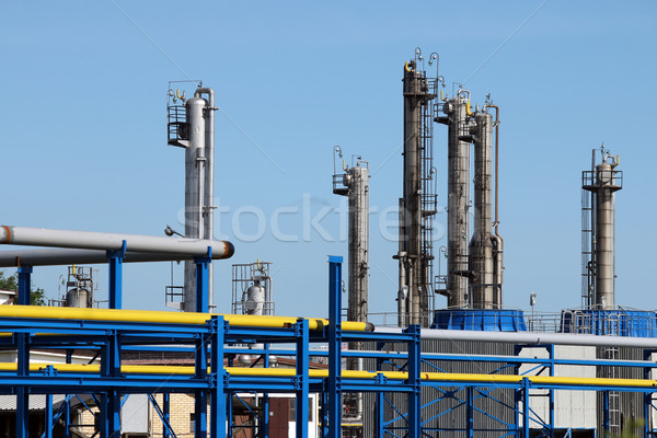 oil industry refinery petrochemical plant Stock photo © goce