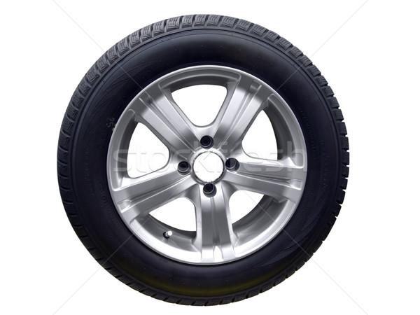 Foto stock: Coche · rueda · aluminio · neumático · velocidad