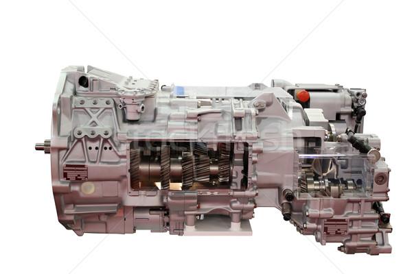 Pesante camion automatico isolato potere attrezzi Foto d'archivio © goce