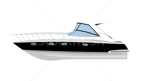 Yacht sport navire vitesse transport luxe Photo stock © goce