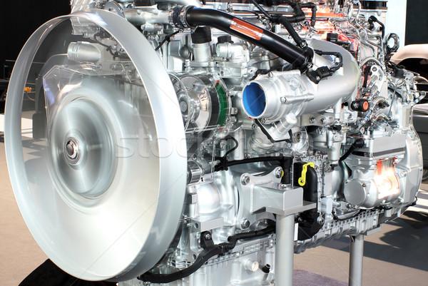heavy truck engine closeup Stock photo © goce
