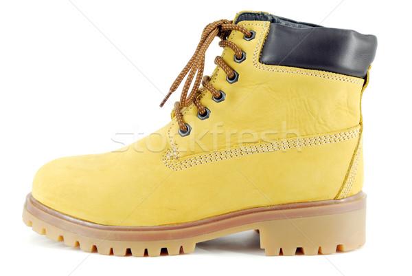 yellow hiking boot Stock photo © goce