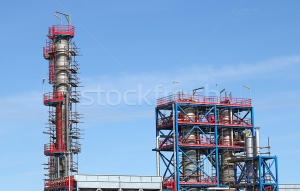 new factory construction site industry zone Stock photo © goce