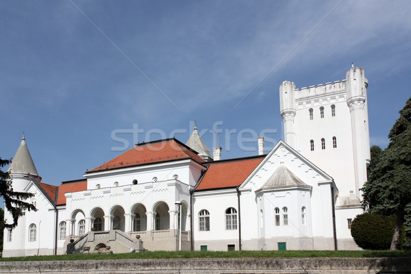 white castle Serbia Eastern Europe Stock photo © goce