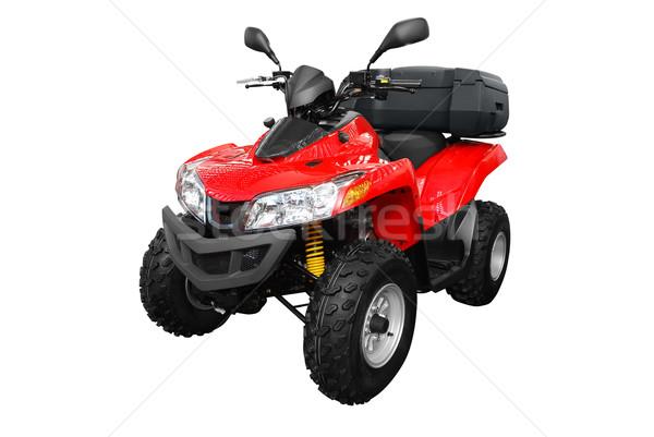 4x4 leuk Rood snelheid macht wiel Stockfoto © goce