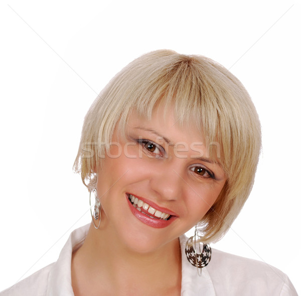 beautiful woman portrait Stock photo © goce