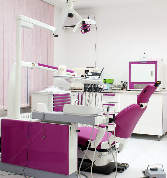 dentist office with equipment interior Stock photo © goce
