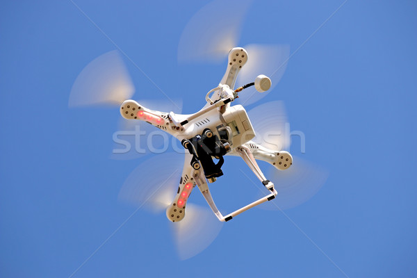 Drone flying in the sky Stock photo © goce