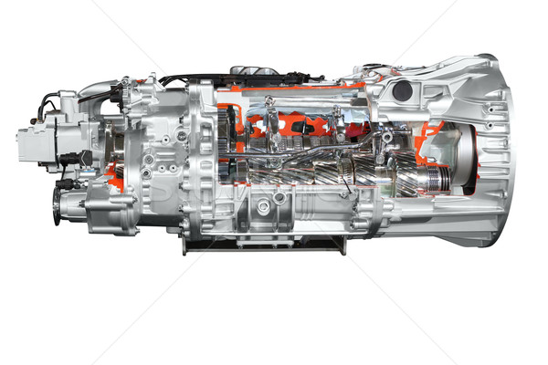 heavy truck transmission isolated Stock photo © goce