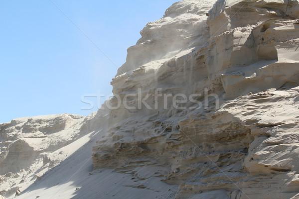 wind blowing across the desert Stock photo © goce