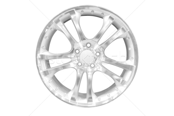 Voiture aluminium roue jante Photo stock © goce