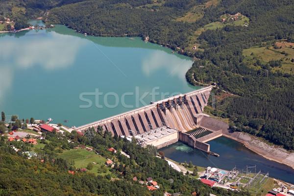hydropower plants on Drina river  Stock photo © goce