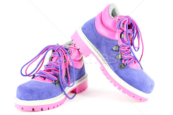 hiking boots for children Stock photo © goce