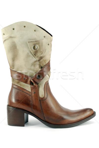 woman cowboy boot Stock photo © goce