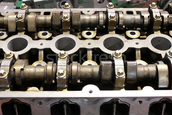 Voiture moteur technologie métal acier Photo stock © goce