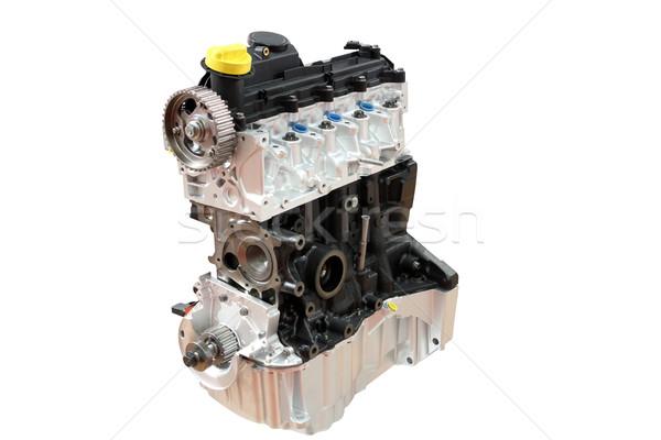 car engine part isolated on white  Stock photo © goce