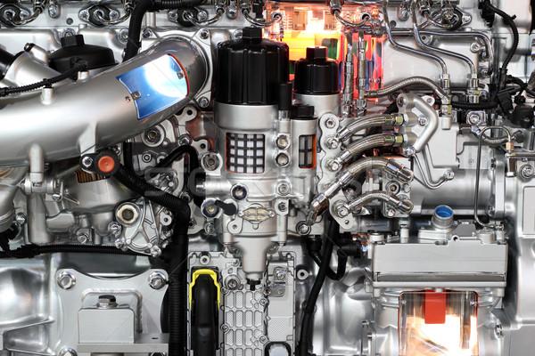heavy truck engine detail Stock photo © goce