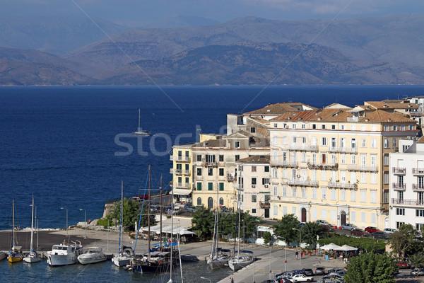 Corfu town Ionian island Greece Stock photo © goce