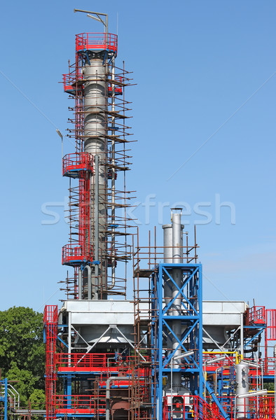 new petrochemical plant oil industry construction site Stock photo © goce