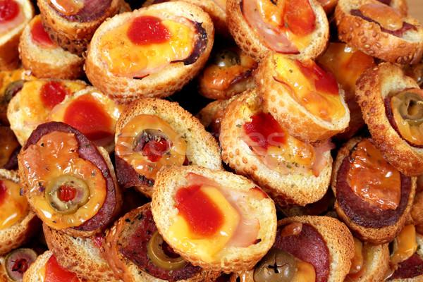 продовольствие хлеб сэндвич томатный оливкового Сток-фото © goce