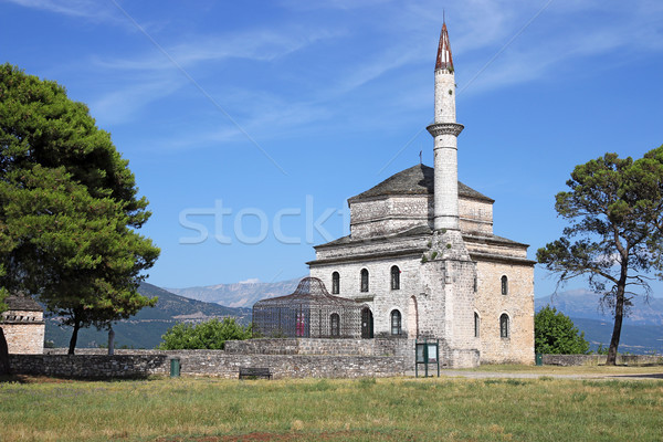 Ali Pasha mosque Ioannina Greece Stock photo © goce