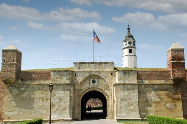Belgrade fortress Kalemegdan  Stock photo © goce