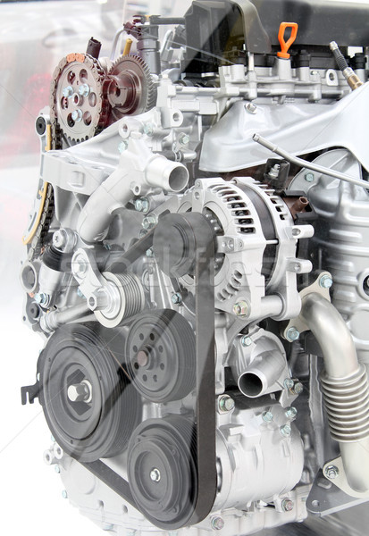 front view car engine detail Stock photo © goce